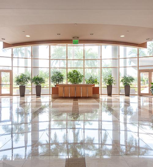 Interior of W1000 lobby